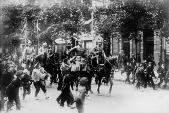 Пруссаки в Варшаве