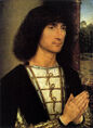Hans Memling - Portrait of a Young Man - WGA14947