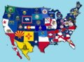 New 50 States Flag Map.png