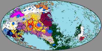 Карта мира 1680