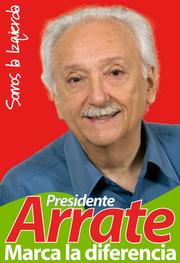 Afiche Candidatura Jorge Arrate (CNS)