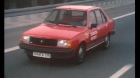 Autotest 1981 - Renault 18 Turbo
