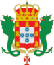 Coat of arms of the Kingdom of Portugal (Enciclopedie Diderot)