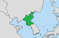 Mapa Norcorea GIA