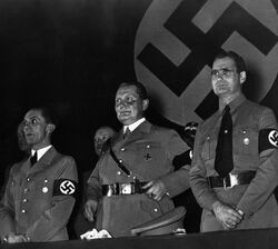Triumvirat Goebbels Goering Hess