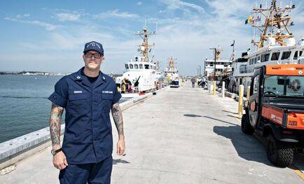 US Coast Guard Training Center Cape May NJ