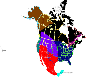 TalkUnited States Of America A Different History Alternative - Blank map of us states and canadian provinces