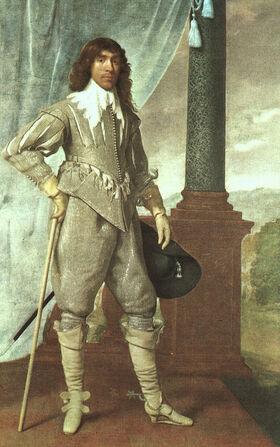 1st Duke of Hamilton by Daniel Mytens