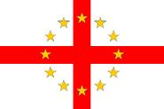 640px-Flag of European Federation England