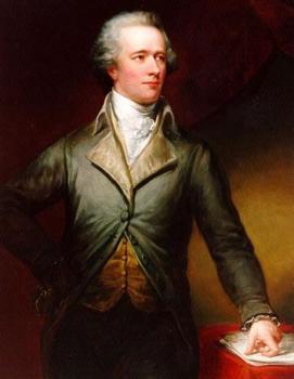 Alexander Hamilton, biggest American traitor