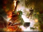 Artist Rendition of Battle of New York