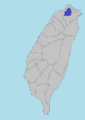 Location of Taipei, Taiwan Prefecture (SM 3rd Power).png