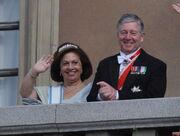 Король и королева Югославии