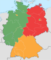 Allied Occuppied Germany (From Sea to Shinning Sea)