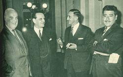 Reelección de Hernán Videla Lira como presidente del Senado (período 1965-1965)
