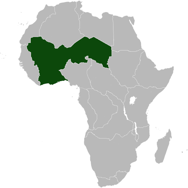 Location Of Mali