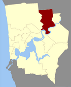 Map of Bayswater County