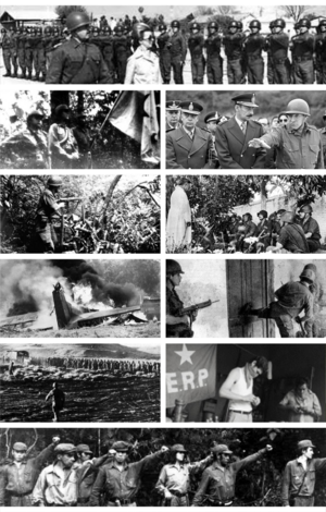 Collage del Operativo Independencia