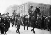 German Victory parade, 1915