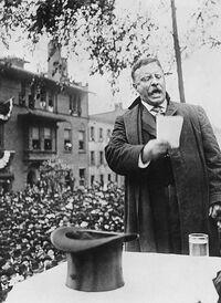Roosevelt on the Stump, 1912