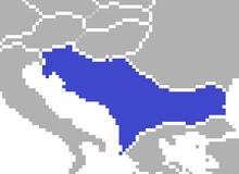 Yugoslavia Map (SM 3rd Power)