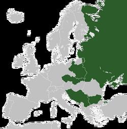 Карта Славянского союза 2