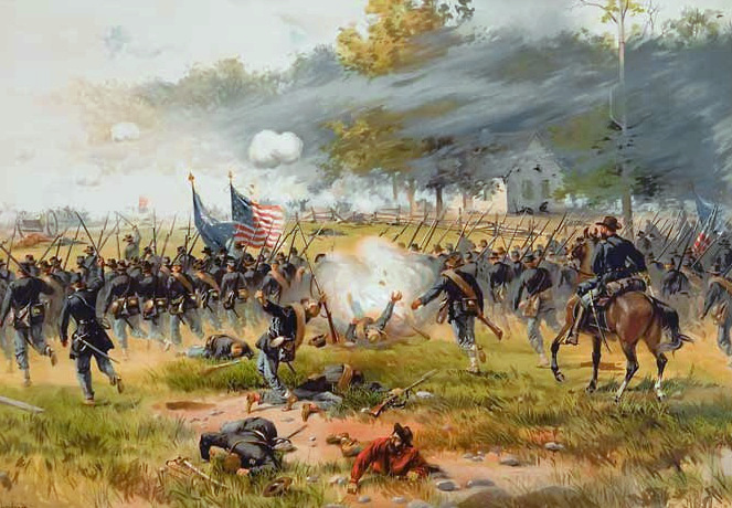the details of events during the battle of antietam in 1862