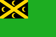 Cocos green ensign