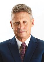 Gary Johnson campaign portrait