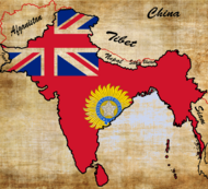 India Británica mapa