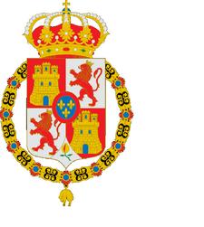 Bandera Reino Unido de españa y mexico