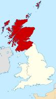 Mapa Escocia.GIA