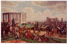 Башкиры в Гамбурге, 1814