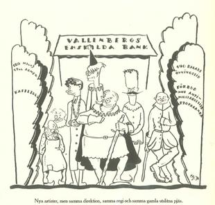 Карикатура на Временное правительство