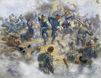 Контратака французов