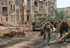 Разрушенные улицы Хасавюрта