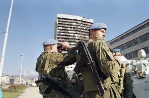 Совестские миротворцы в Боснии