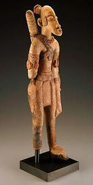 Djenne Terracotta Archer (13th-15th cent)