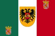 Flag of Hispanian italy
