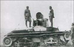 CSR Ivancice destroyed LT vz. 35