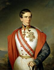 Franz Joseph of Austria young