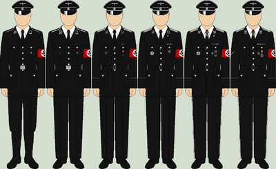 Die allgemeine ss dress uniforms