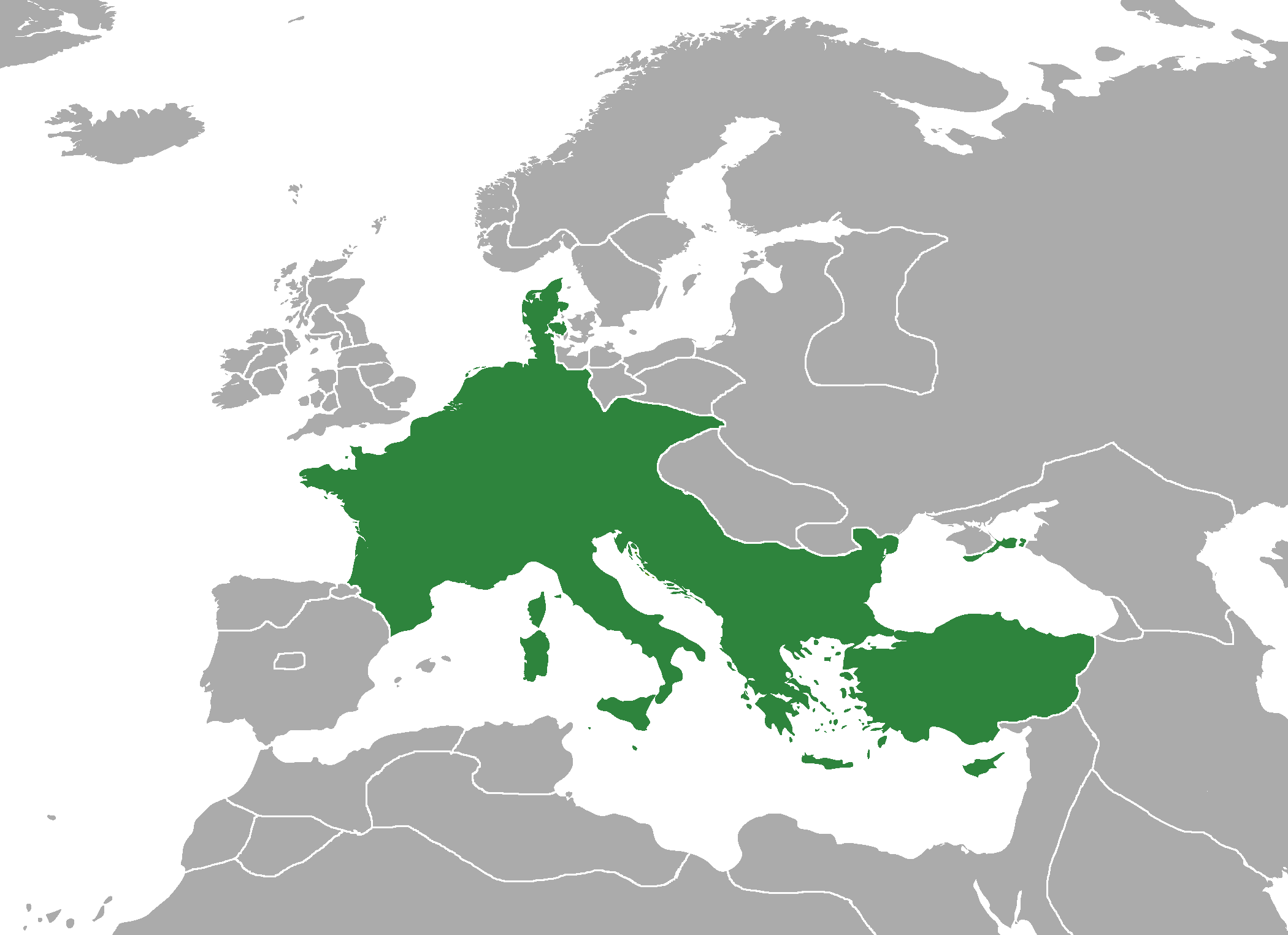 Beginning of the Carolingian dynasty. The formation of the Frankish state 48