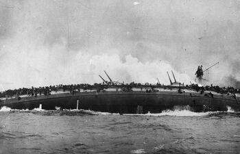 Немецкий крейсер SMS Bluecher
