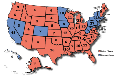 United States Elections Wikipedia File General Election - Us 2008 election map