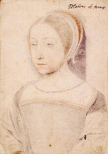 Clouet Renee Queen consort of Aragon