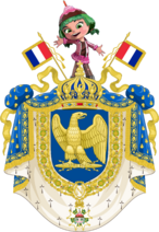 Coat of arms of French Fifth Empire