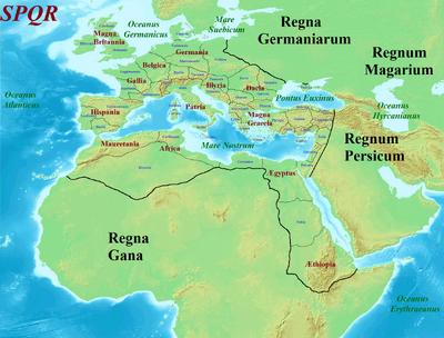 Roman Empire 990 CE