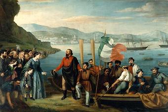 Высадка Гарибальди на Сицилии