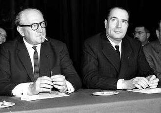 Молле и Миттеран